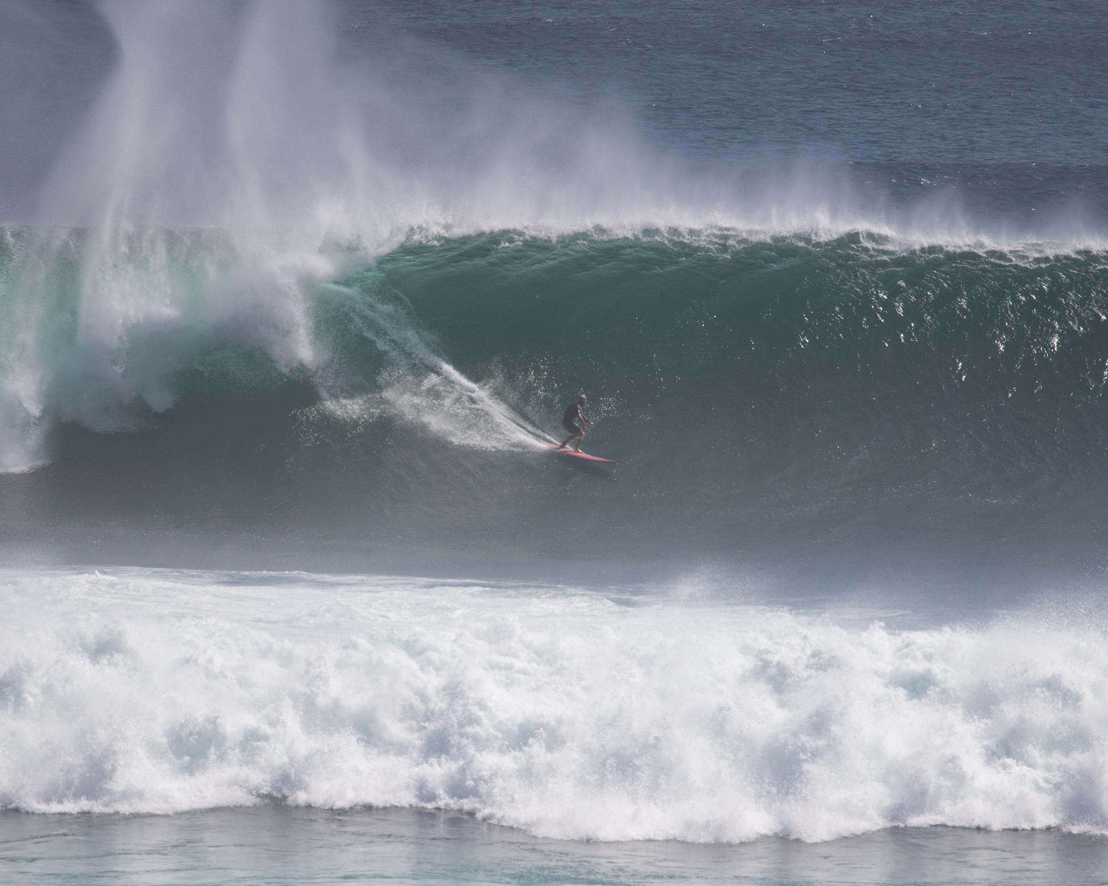 Uluwatu big wave