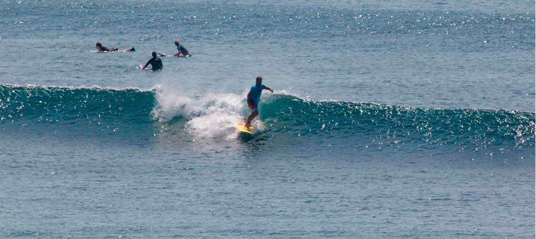 learn to surf padang padang