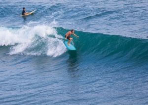 Where are the best intermediate surf spots in Bali